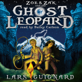 Giveaway: GHOST LEOPARD Audio Book