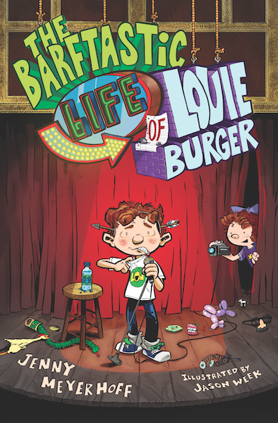 Giveaway: The Barftastic Life of Louie Burger by Jenny Meyerhoff (US only)