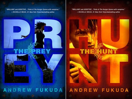 Interview with Andrew Fukuda plus a chance to win a copy of THE PREY! (US only)