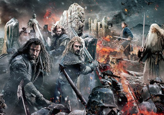 Nerd Riders Drive Through Movie Review - #TheHobbit : Battle of the Five Armies #YAMovieDay