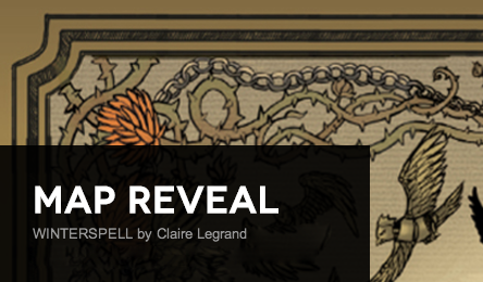 Map Reveal: Winterspell by Claire Legrand + Giveaway (US/Canada)