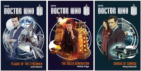 Giveaway: Win a Doctor Who Prize Pack! (Books+DVDs) (US only)