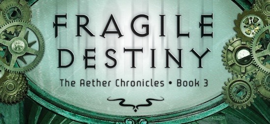 Cover Reveal: Fragile Destiny by Suzanne Lazear + Giveaway