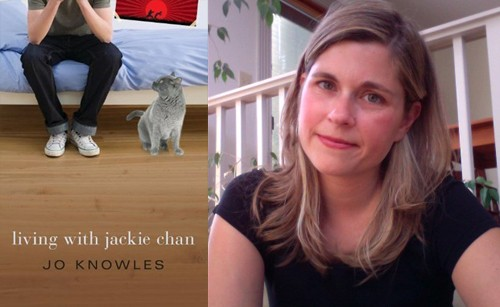 Interview with Living with Jackie Chan author Jo Knowles + Giveaway (US/Canada)