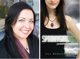 Spookyhouse: A Guest Post by Jill Baguchinsky, author of Spookygirl + US Giveaway!