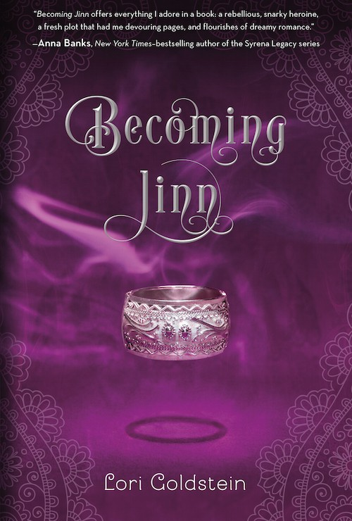 Exclusive Sneak Peek at Becoming Jinn by Lori Goldstein + Giveaway (US Only)