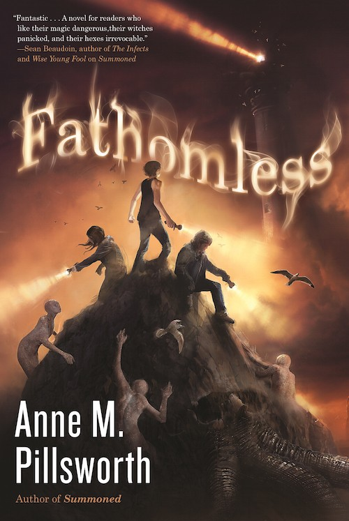 Sneak Peek at Fathomless by Anne M. Pillsworth + Giveaway (US Only)