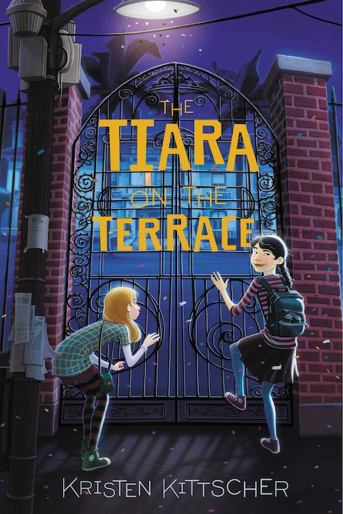 Featured Trailer: The Tiara On The Terrace by Kristen Kittscher + Giveaway (US Only)