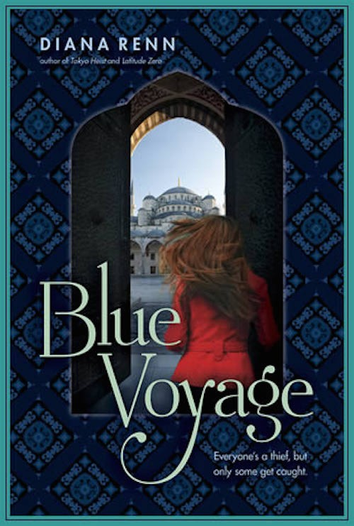 Trailer Reveal: Blue Voyage by Diana Renn + Giveaway (US/Canada)