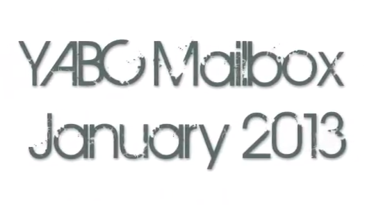 YABC Mailbox - January 2013 (International Giveaway)