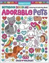 Personalized Notebook Doodles Adorable Pets Coloring Book