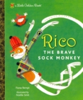 Rico the Brave Sock Monkey