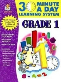 30 Minutes a Day Learning System: Grade 1