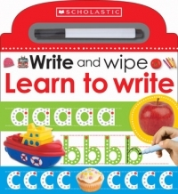 Write and Wipe: Learn to Write