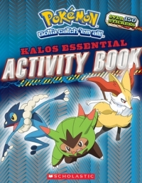 Pokemon: Kalos Essential Activity Book