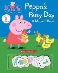 Peppa's Busy Day: A Magnetic Book