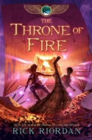 The Throne of Fire (Kane Chronicles, Book 2)