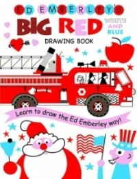 Ed Emberley's Big Red White and Blue Drawing Book