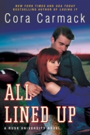 All Lined Up (Rusk University #1)