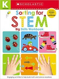 Kindergarten Big Skills Workbook: Sorting for Stem