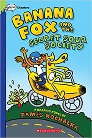 Banana Fox and the Secret Sour Society (Banana Fox #1)