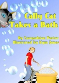 Cally Cat Takes a Bath