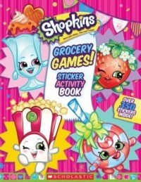 Grocery Games! (Shopkins Jumbo Sticker Activity Book)