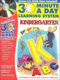 30 Minutes a Day Learning System: Kindergarten