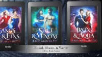 Fangs & Fins: Blood, Bloom, & Water Series Book Trailer